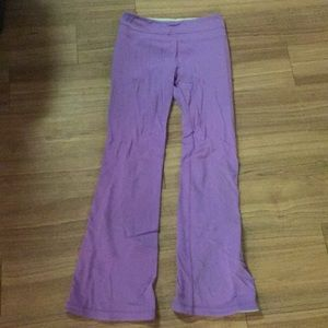 Lululemon purple yoga pants